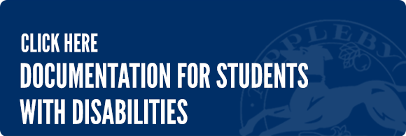 link to documentation for students with disabilities